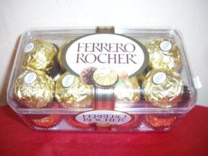 chocolate ferrero 16 a 150 pesos