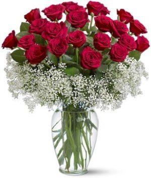 florero de 15  rosas 550 pesos